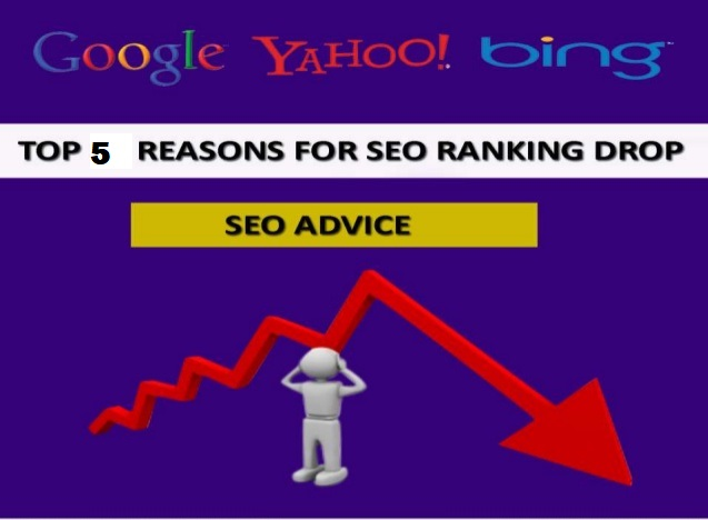 Google ranking dropped dramatically? Here are some reasons!!