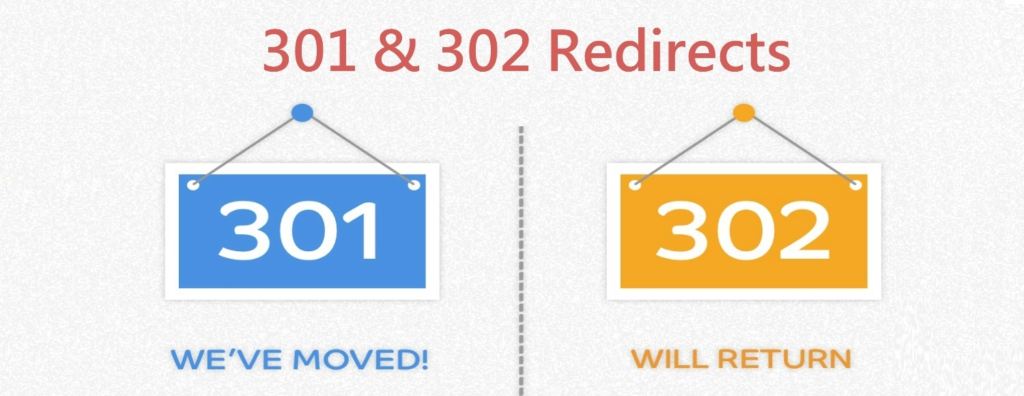 301 and 302 redirect
