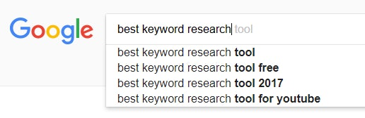 Keywords research tips